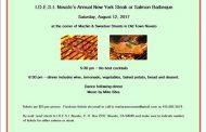 I.D.E.S.I. Novato's Annual New York Steak & Salmon Barbeque