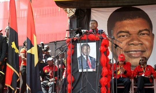 Angola's likely next president hits the campaign trail