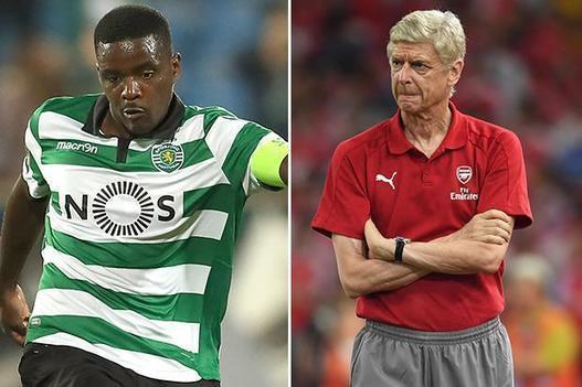 Arsenal make Sporting Lisbon's Portuguese star William Carvalho their top midfield target
