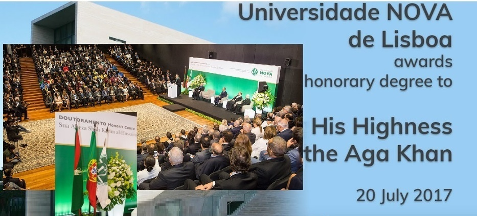 Full Event Video – IC Lisbon: His Highness Prince Karim Aga Khan receives honorary degree from Universidade NOVA de Lisboa