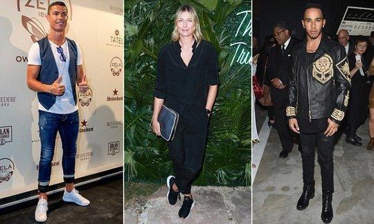 Madrid star Ronaldo ranks 11th on fashionable athletes list