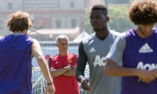 Mourinho rules out Ronaldo move after United rout Galaxy | IOL