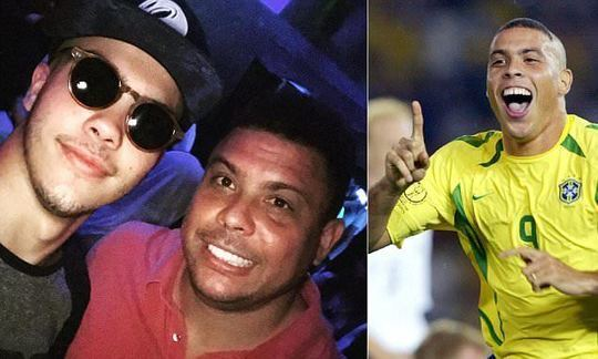 Ronaldo's son following in footsteps after selection for Brazil U18s