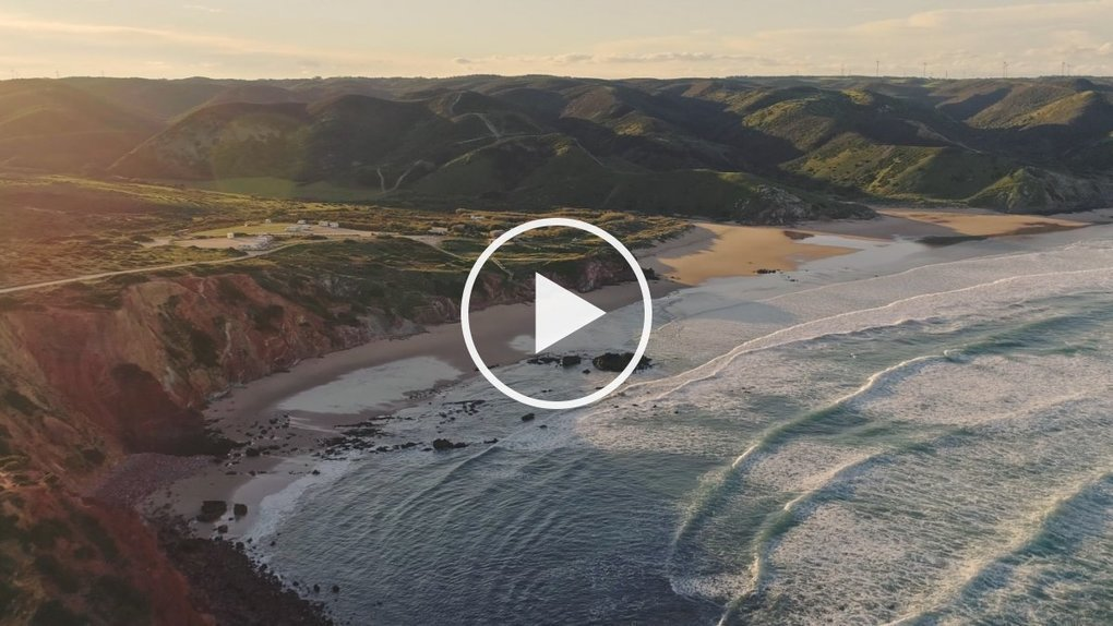 A Drone Journey from Portugal's Coast