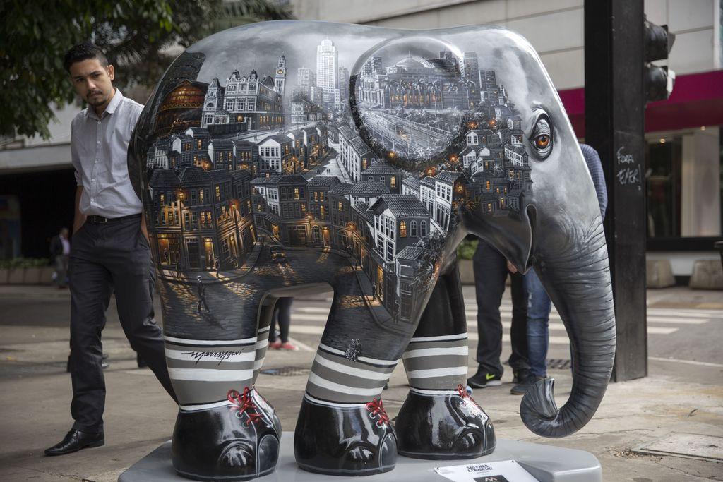 Elephant Parade hits the streets of São Paulo