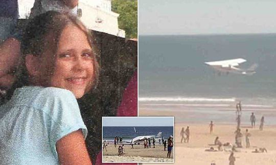 Pictured: Little 'angel' killed in Portuguese beach plane crash