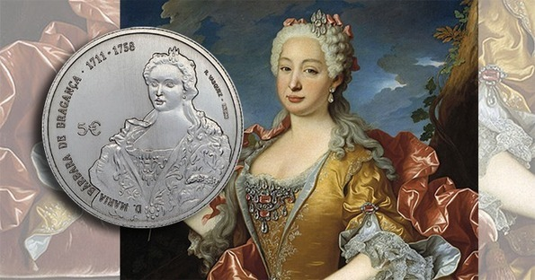 "Portugal: Maria Bárbara de Bragança features on latest coin in ""Queens of Europe"" series"