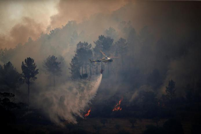 Portugal asks for help from Europe to fight fires
