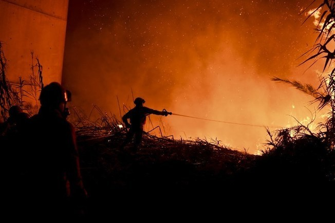 Spain rushes to Portugal's aid as forest fires rage