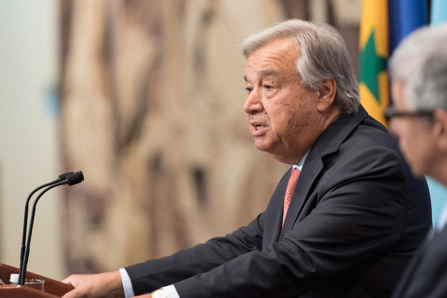 UN News - 'Racism, xenophobia, anti-Semitism or Islamophobia are poisoning our societies' – UN chief