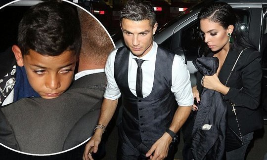Cristiano Ronaldo and Georgina Rodriguez party after FIFA Award