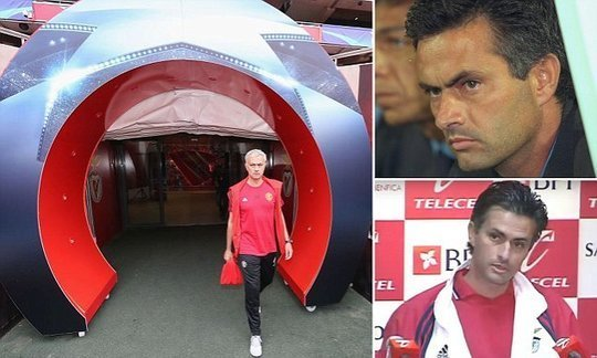 Flashback to Jose Mourinho's three months at Benfica