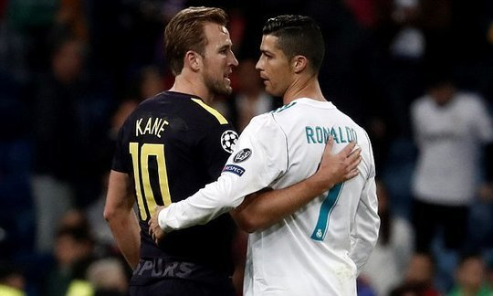 Harry Kane delighted after Cristiano Ronaldo shirt swap