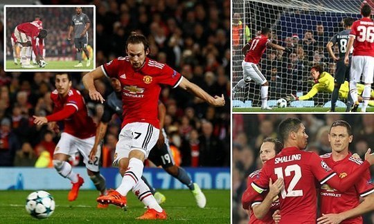 Manchester United 2-0 Benfica: report