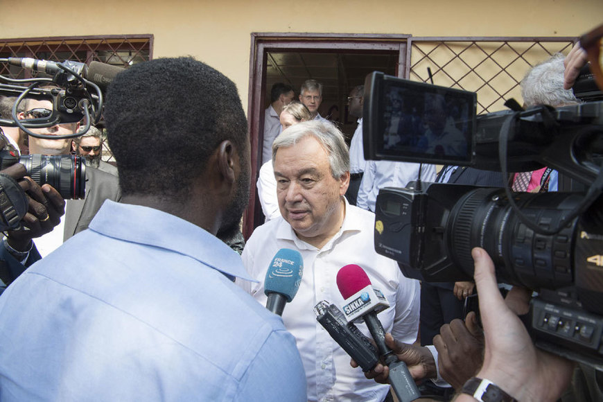 UN News - UN chief pays tribute to courage, resilience of people of Central African Republic