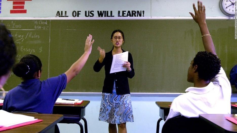 Where teachers have the highest status