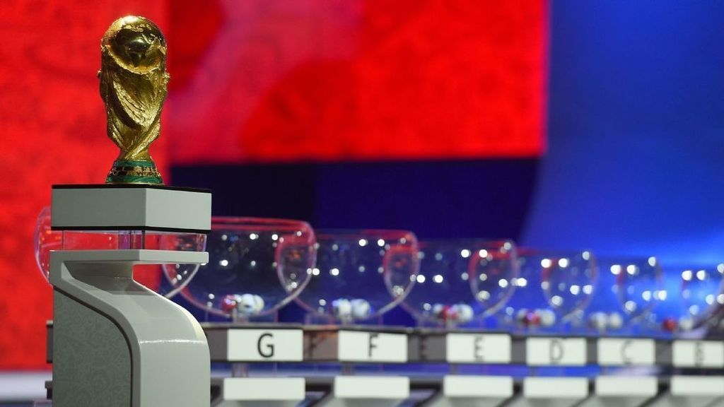 2018 World Cup draw complete results