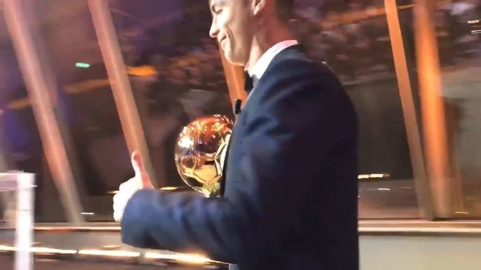 Cristiano Ronaldo reveals hopes for career finale after latest Ballon d'Or win