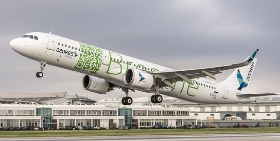 PICTURE: Azores takes first A321neo