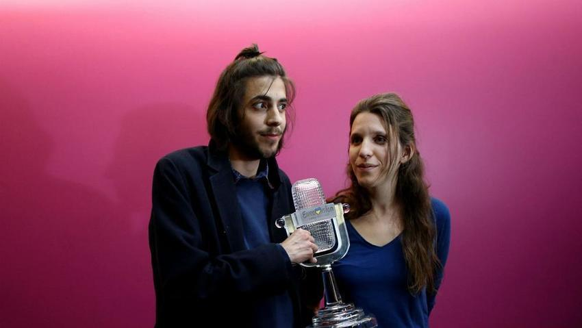Portuguese Eurovision winner's heart transplant 'goes well' says docto