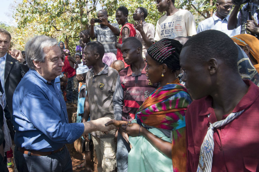 UN News - UN chief issues 'red alert,' urges world to come together in 2018 to tackle pressing challenges