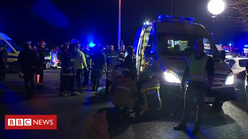 Eight dead in Portugal leisure centre fire