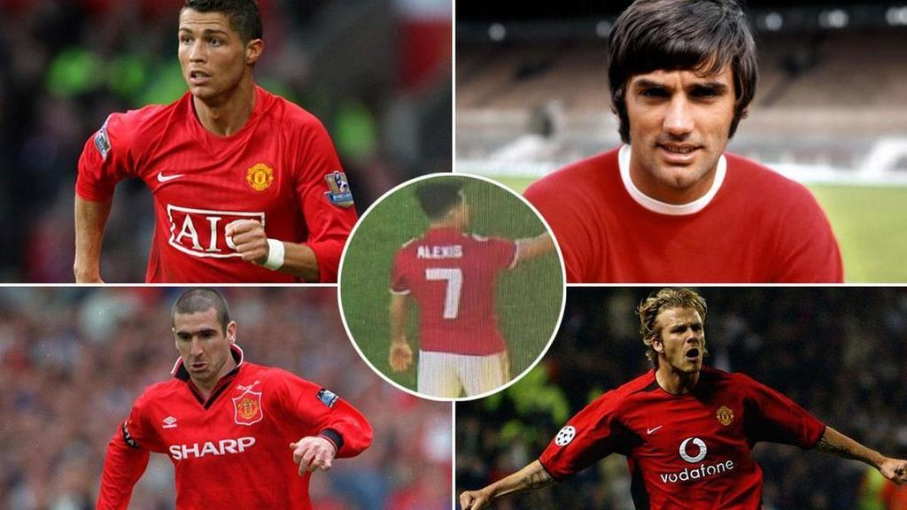 Man United's best and worst No.7s rated as Sanchez takes legendary shirt