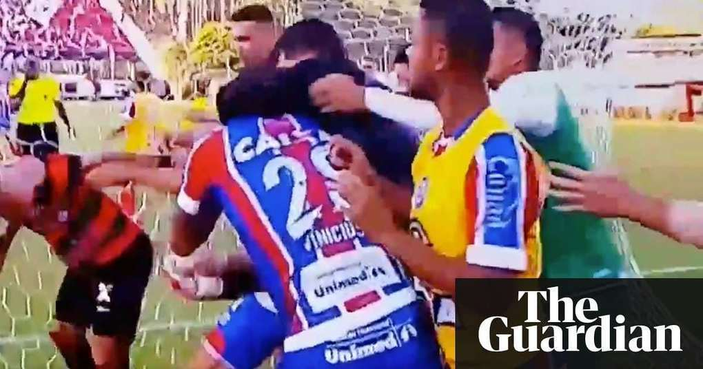 Brazilian football match abandoned after mass brawl and nine red cards | World news | The Guardian