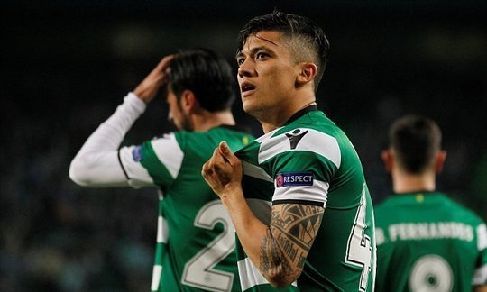 Sporting Lisbon 2-0 Viktoria Plzen: Fredy Montero double earns win | Daily