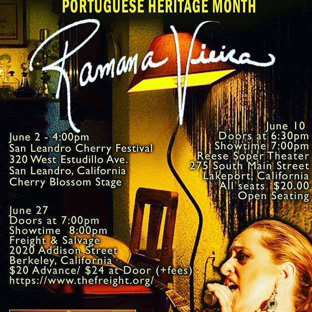 Portuguese Heritage Month Events - Ramana Vieira - 2018!