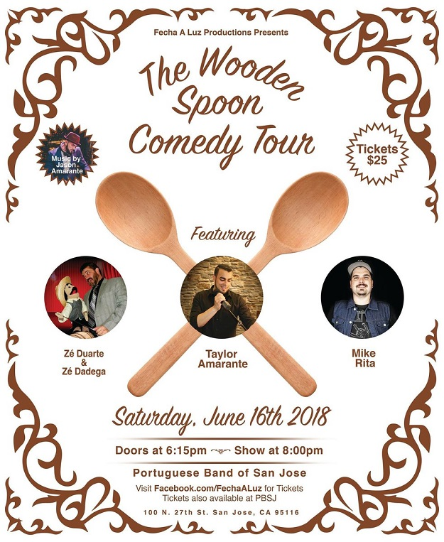 The Wooden Spoon Comedy Tour - San Jose 2018