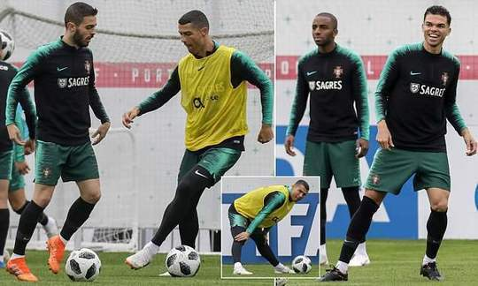 Cristiano Ronaldo and Portugal continue World Cup preparations ahead of opener against Spain | Daily