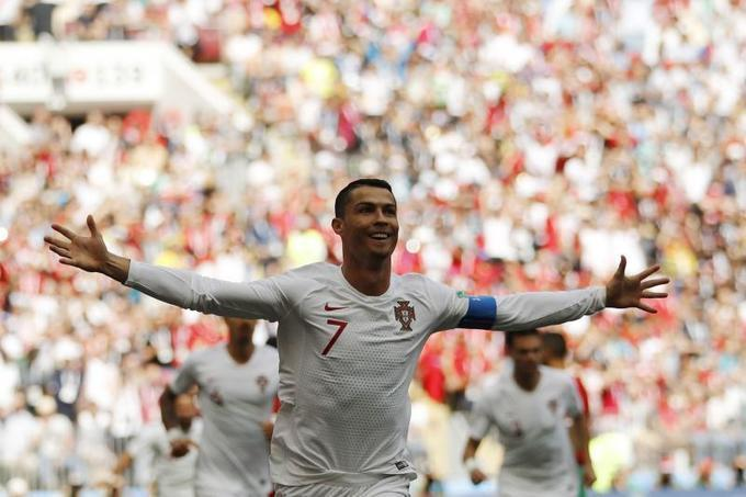 Cristiano Ronaldo's Goal Leads Portugal Past Morocco at 2018 World Cup | Bleacher Report | Latest News, Videos and Highlights