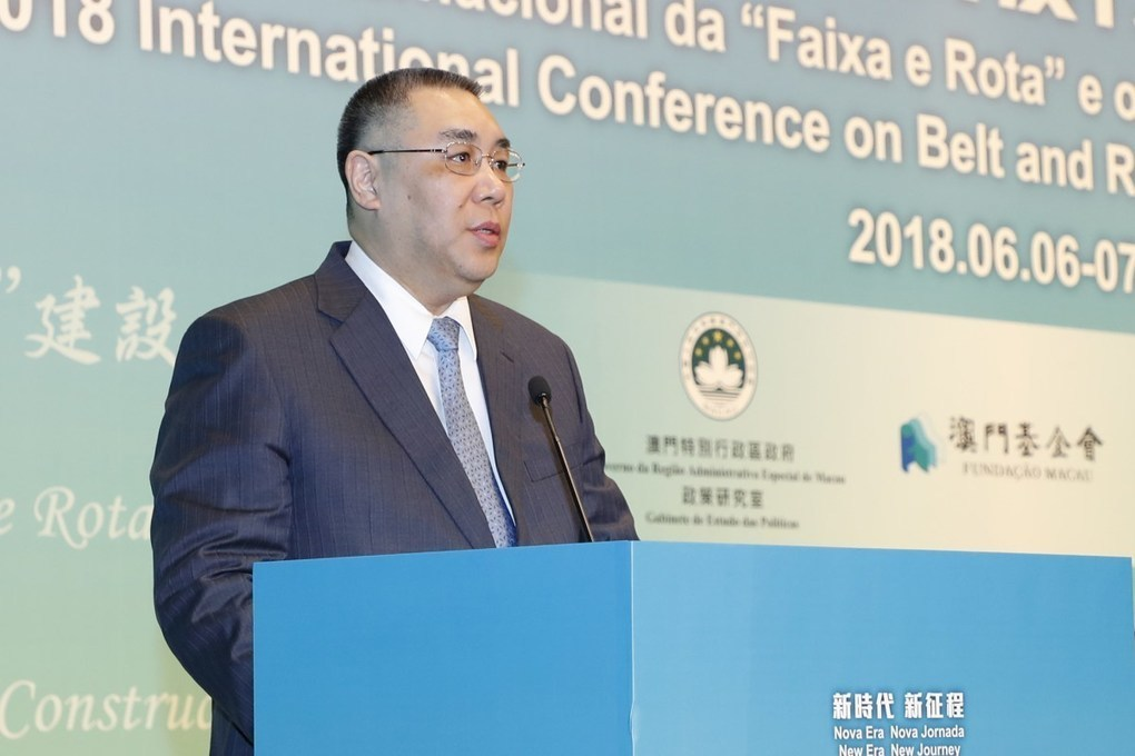 "Macau has to contribute to the development of the ""Belt and Road"" –"
