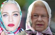Madonna channels The Queen and Hilda Ogden as she rocks headscarf | Daily