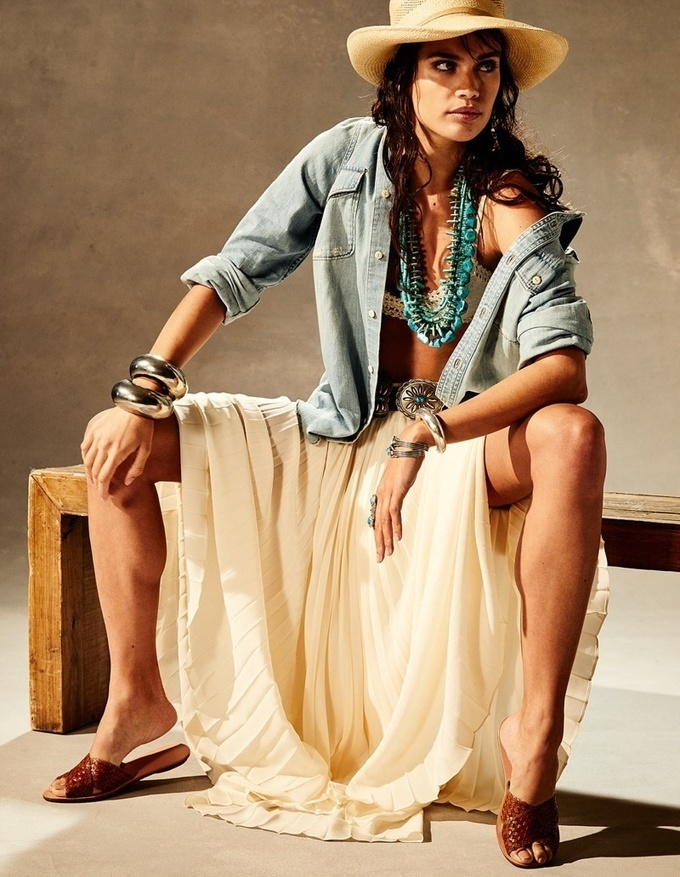 Sara Sampaio | PORTER Magazine | Vacation Fashion Editorial