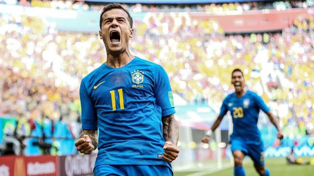 Stoppage-time goals see Brazil past Costa Rica