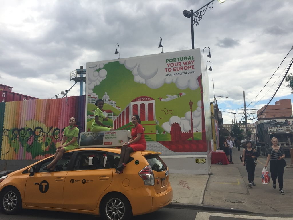 TAP Air Portugal Promotes Stopover Program in Brooklyn with Co-Owner David Neeleman