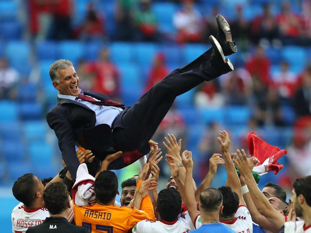 World Cup 2018: Carlos Queiroz the catalyst as Iran dream of more