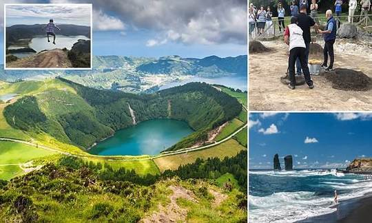 Would you take a holiday on a VOLCANO? The Azores offers an explosive family break | Daily