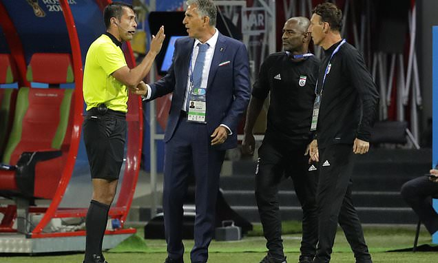 Queiroz wary of letting the dogs out against Portugal | Daily