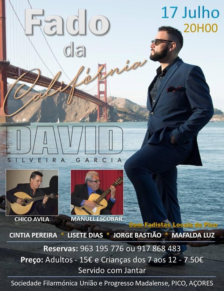 David Silveira Garcia - Fado da California - Pico, Açores - 2018!