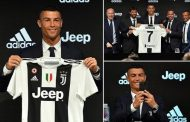 Cristiano Ronaldo officially unveiled as a Juventus player in Turin | Daily