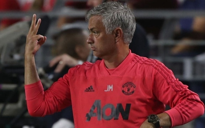 Jose Mourinho tries to ease tension at Manchester United by backing down on demand for two more new signings