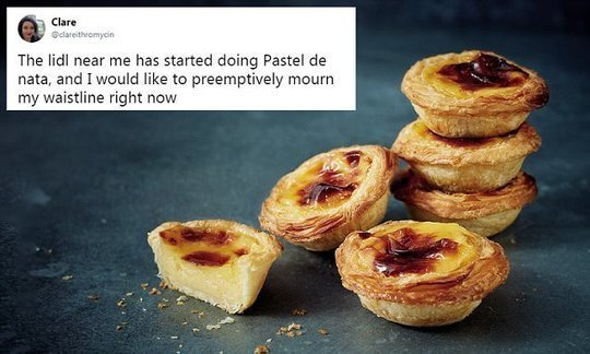 Pastry fans go wild for Lidl's version of Portuguese Pastel de Nata | Daily