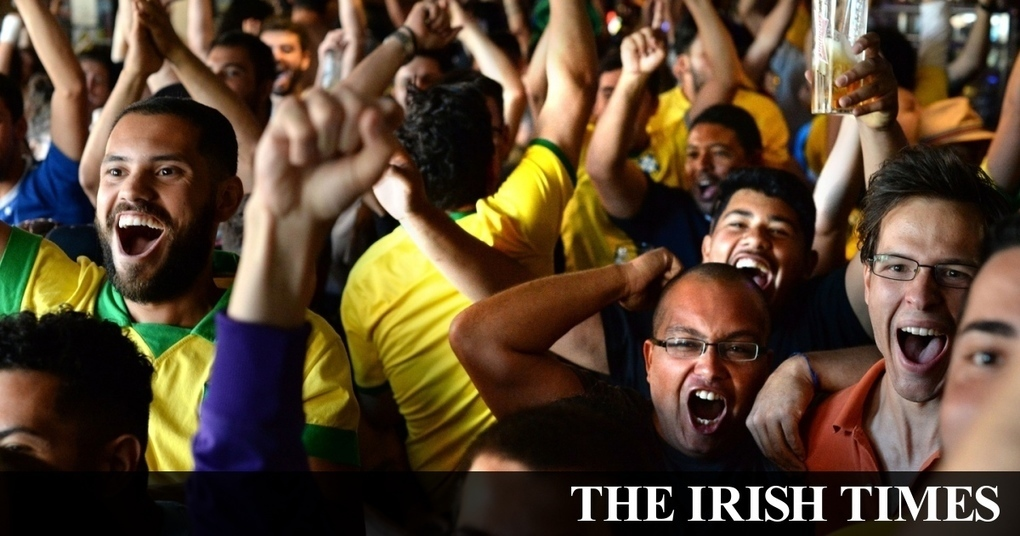 Spirits high as Brazilian fans toast Neymar and Co