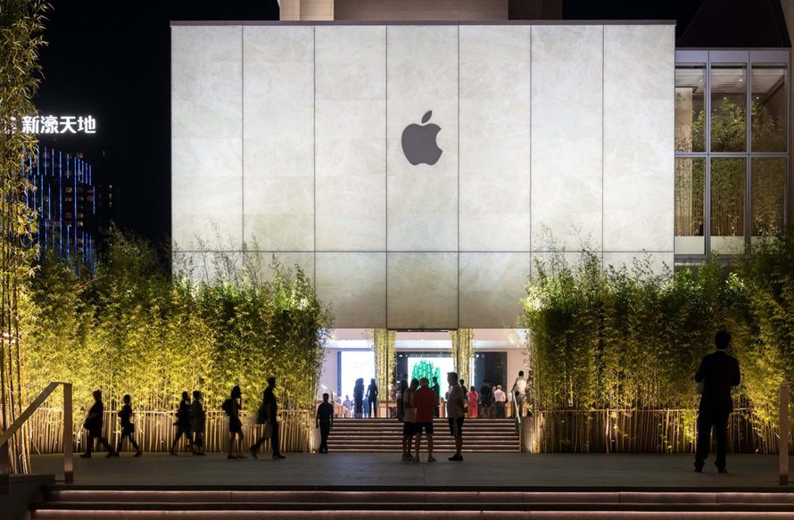 Step inside Apple's new store in Macau by Foster + Partners