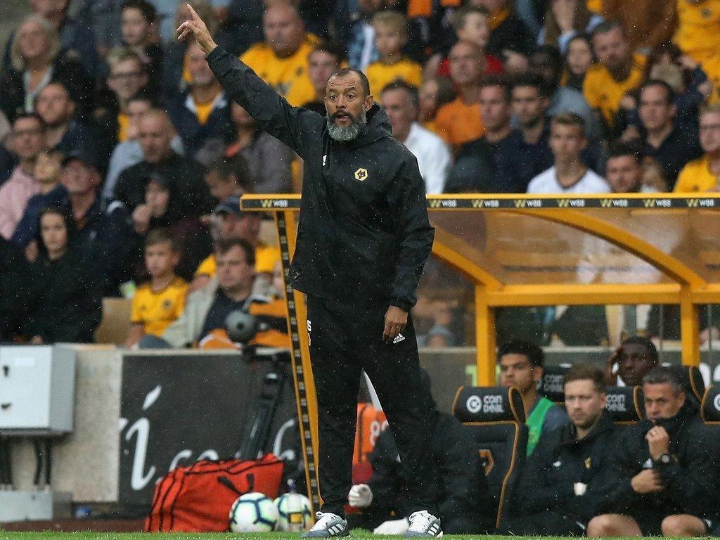 Nuno Espirito Santo says Wolves will not change their football despite winless start to the Premier League