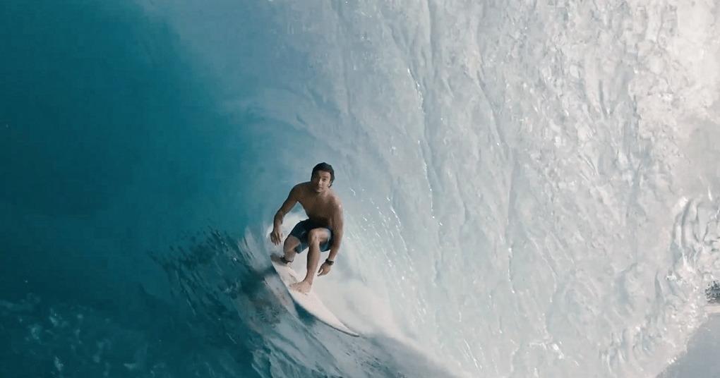 Portuguese Surfer Miguel Blanco Surfs Puerto Escondido, Mexico