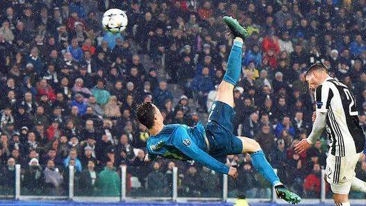 Ronaldo's overhead kick against Juventus wins UEFA goal of season | IOL